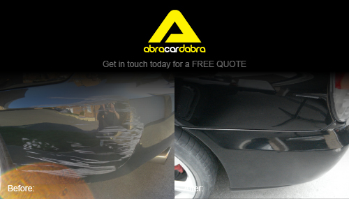 car scuff repair leeds by abracardabra. Black Bedroom Furniture Sets. Home Design Ideas